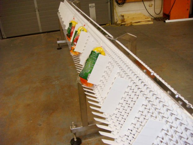 Twisting Mattop Conveyor