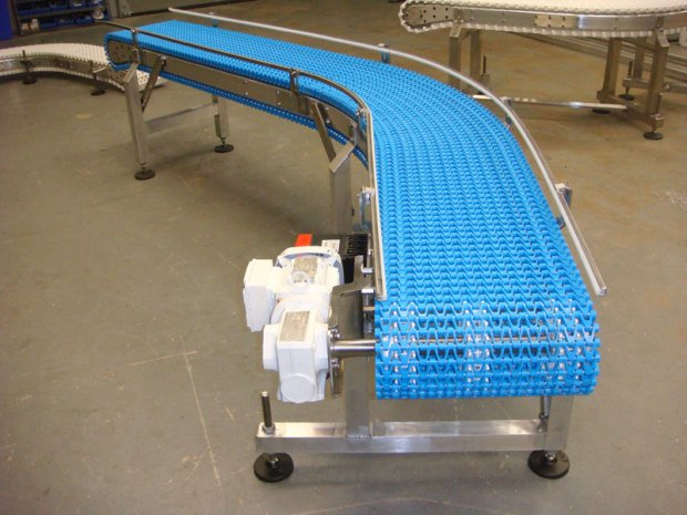 Blue Mattop Conveyor
