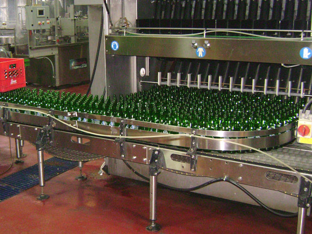 Bottle Sorting Conveyor