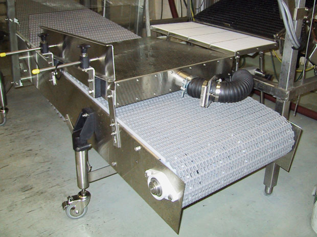 Stainless Conveyor End